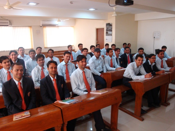 Organizational Values and Ethics class in ASOM