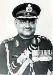 Gen BC Joshi (1935-1994)  Chief of Army Staff Indian Army