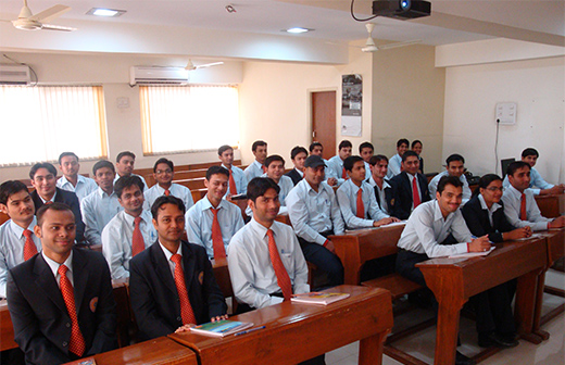 ASOM Business Ethics and Values MBA class view - 1
