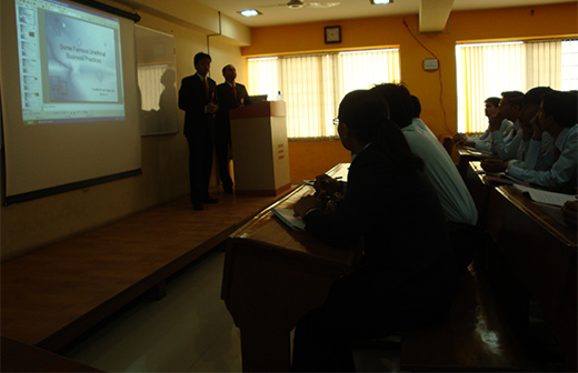 ASOM Business Ethics and Values MBA student presentation