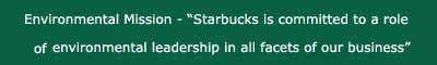STARBUCKS -environmental mission copy