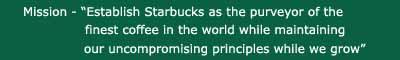 Starbucks-mission copy