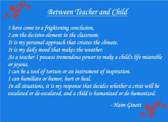 a teacher s sacred responsibility breath of joy