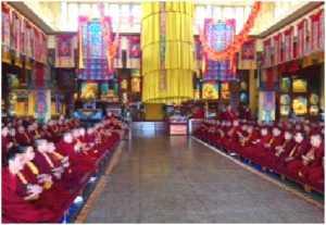 monks praying 1